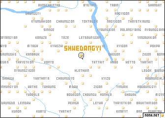 map of Shwedangyi