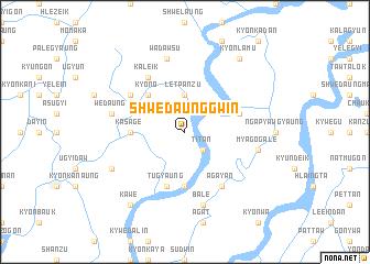 map of Shwedaunggwin