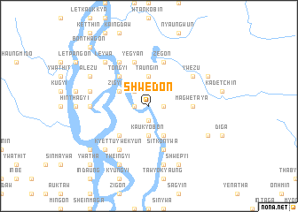 map of Shwedon