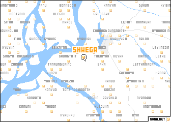 map of Shwega