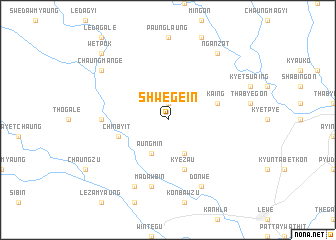 map of Shwege-in