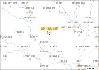 map of Shwege-in