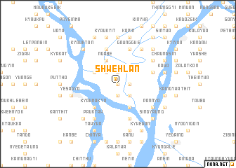 map of Shwehlan