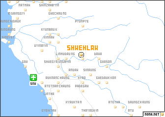 map of Shwehlaw