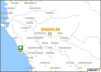 map of Shwehlaw