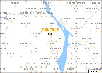 map of Shwehle