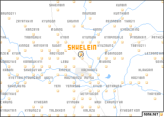 map of Shwele-in