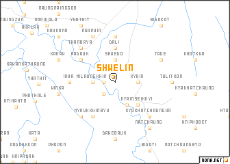 map of Shwelin