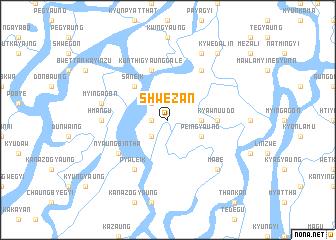 map of Shwezān