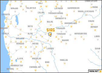 map of Siag
