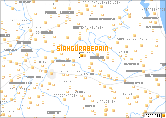 map of Sīāh Gūrāb-e Pā\