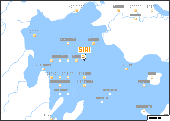 map of Siai