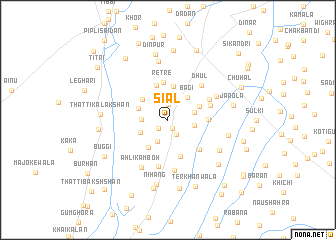 map of Siāl