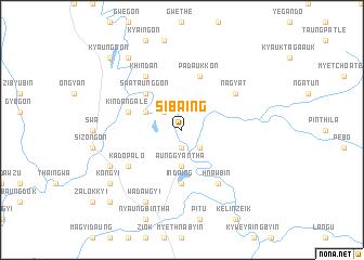 map of Sibaing