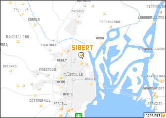 map of Sibert
