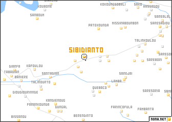 map of Sibidianto
