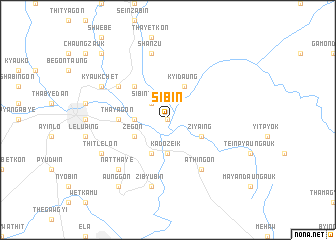 map of Sibin