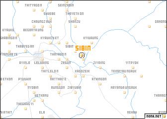 map of Sibin