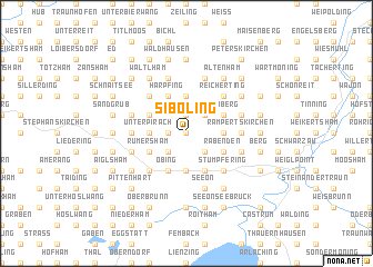 map of Siboling