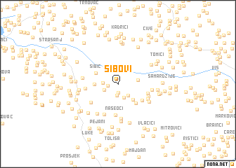 map of Sibovi