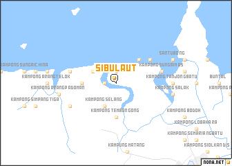 map of Sibu Laut