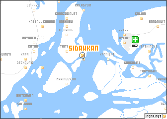 map of Sidawkan