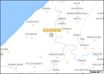 map of Sidi Aïssa
