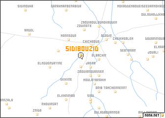 map of Sidi Bou Zid