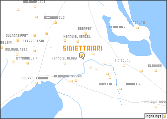 map of Sidi et Taïari