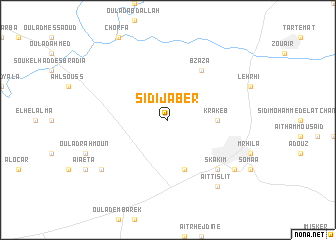 map of Sidi Jaber