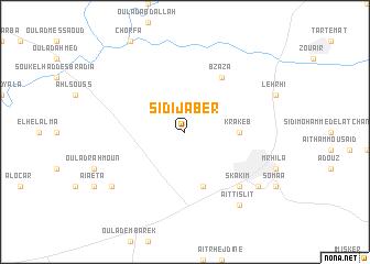 map of Sidi Jaber