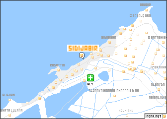 map of Sīdī Jābir