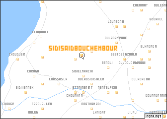 map of Sidi Saïd Bou Chembour