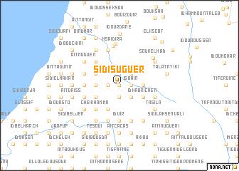 map of Sidi Suguer