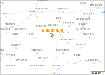 map of Sidornichi