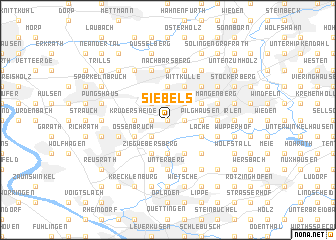 map of Siebels