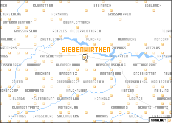 map of Siebenwirthen