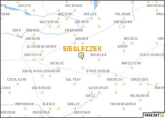 map of Siedleczek