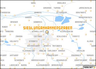 map of Siedlung am Hammergraben