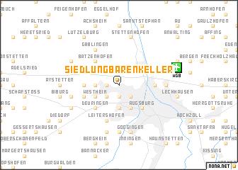 map of Siedlung Bärenkeller