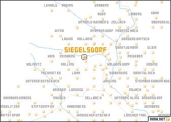 map of Siegelsdorf