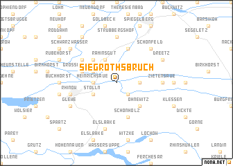 map of Siegrothsbruch
