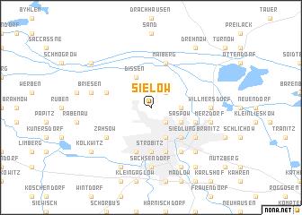 map of Sielow