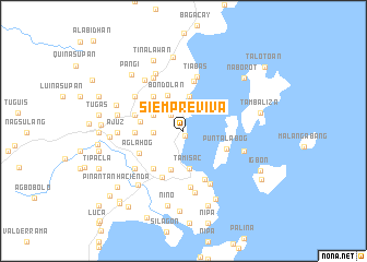 map of Siempreviva
