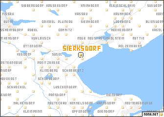 map of Sierksdorf