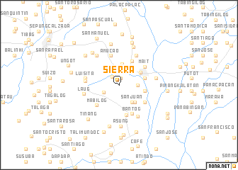 map of Sierra
