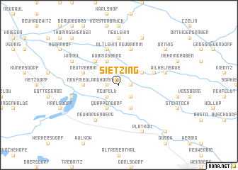 map of Sietzing