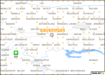 map of Sieveringen