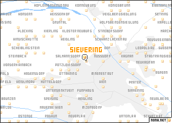 map of Sievering