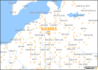 map of Sigaras